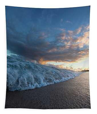 Coastal Rush Tapestry
