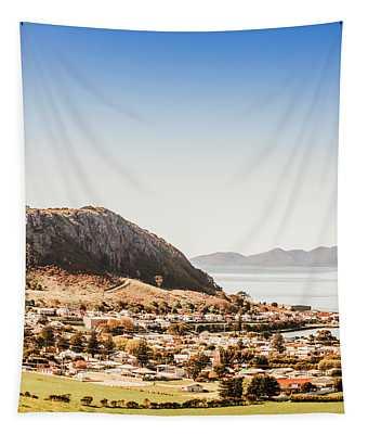 Coastal Tasmanian Town Tapestry
