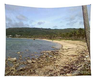 Coastline In Guam II Tapestry