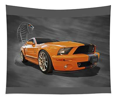 Cobra Power - Shelby Gt500 Mustang Tapestry