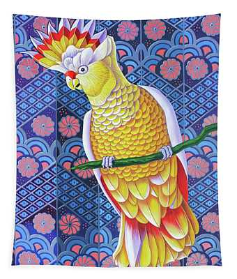 Cockatoo Tapestry