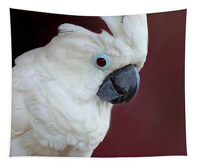 Cockatoo Portrait Tapestry