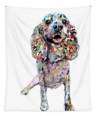 Cocker Spaniel Tapestry