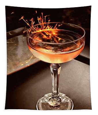 Cocktail Dazzle Tapestry