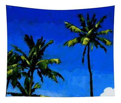Coconut Palms 5 Tapestry
