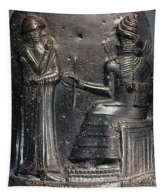 Code Of Hammurabi (detail) Tapestry
