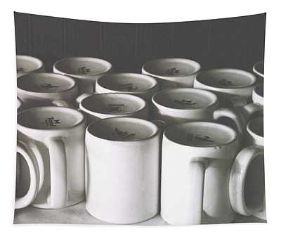 Coffee Cups- By Linda Woods Tapestry