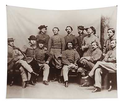 Colonel John Mosby - Mosby's Rangers Photo - Civil War Tapestry