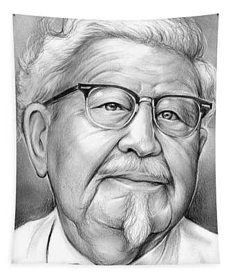 Colonel Sanders Tapestry