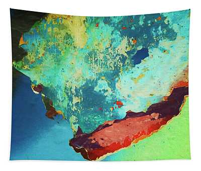Color Abstraction Lxxvi Tapestry