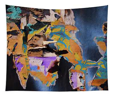 Color Abstraction Lxxvii Tapestry