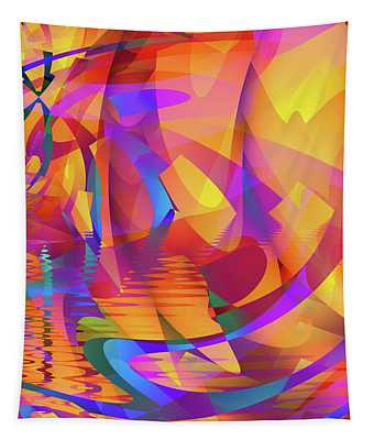 Color Chaos Tapestry