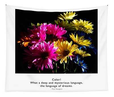 Color Language Of Dreams Tapestry