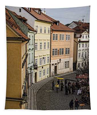 Color Of Prague Tapestry