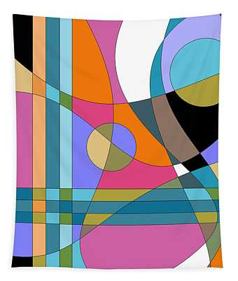 Color Play Tapestry