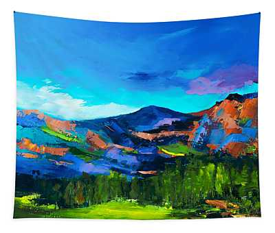 Colorado Hills Tapestry