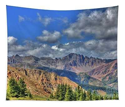 Colorado Rocky Mountains Tapestry