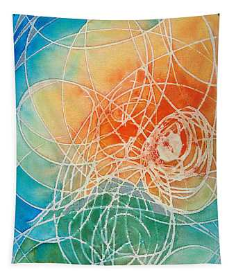 Colorful Art - Color Wash - By Sharon Cummings Tapestry