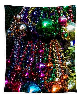 Colorful Baubles Tapestry