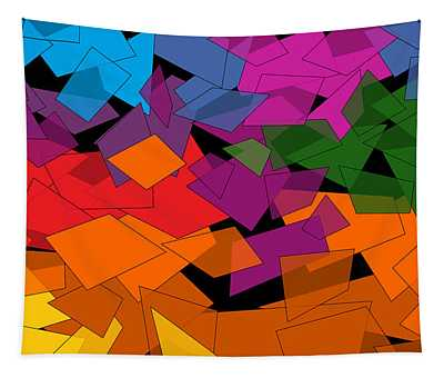Colorful Chaos Too Tapestry