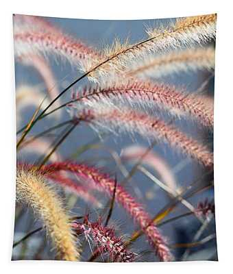 Colorful Grass Art - In The Summer Light - Sharon Cummings Tapestry
