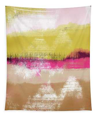 Colorful Landscape 28- Art By Linda Woods Tapestry