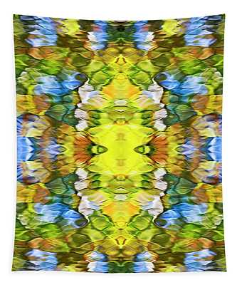 Colorful Liquid Pattern Tapestry