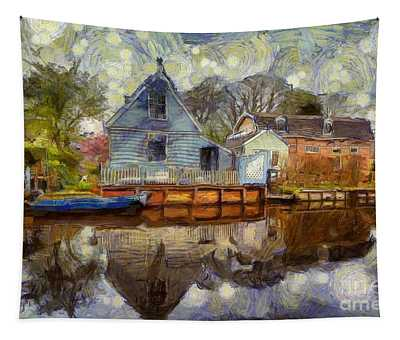 Colorful Serenity Tapestry