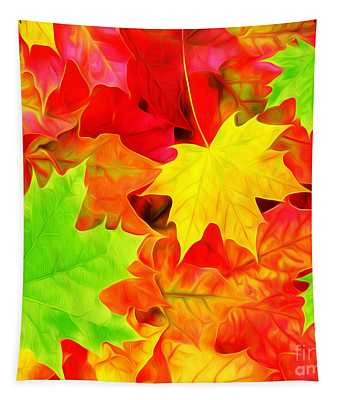 Colors Of Autumn Tapestry