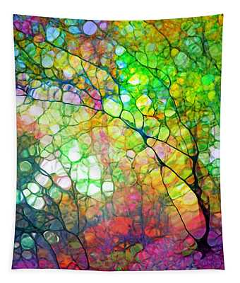 Colour Combustion Tapestry