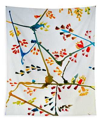 Colourful Blossoms Tapestry