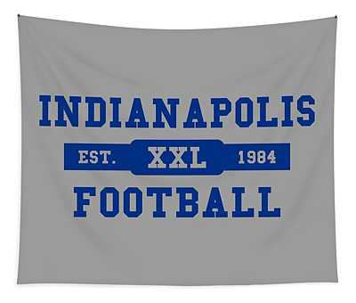 Colts Retro Shirt Tapestry
