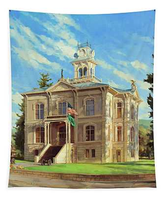 Columbia County Courthouse Tapestry