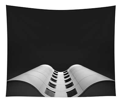 Modern Architecture Wall Tapestries