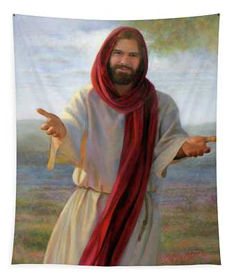 Come Unto Me Tapestry