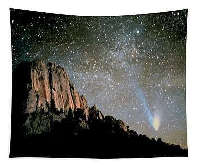 Comet Hale-bopp Tapestry