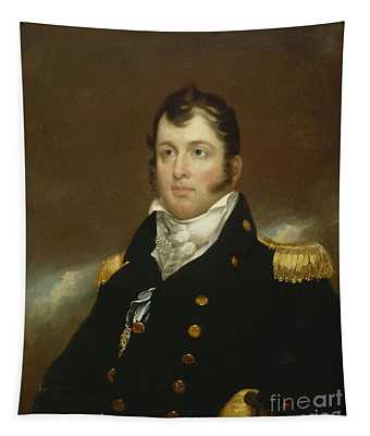 Commodore Oliver Hazard Perry Tapestry