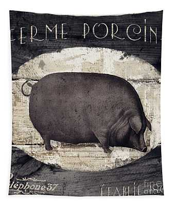 Compagne II Pig Farm Tapestry