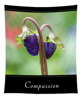 Compassion 1 Tapestry