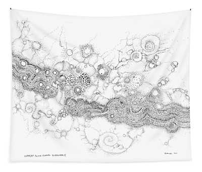 Complex Fluid  Tapestry