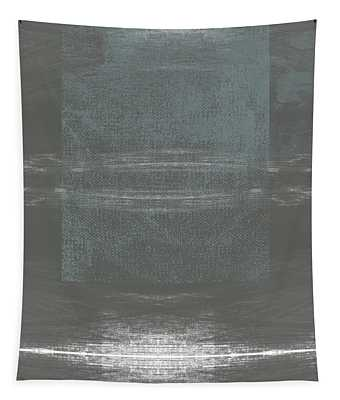Concrete 2- Contemporary Abstract Art By Linda Woods Tapestry