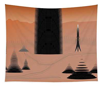 Cone City Tapestry