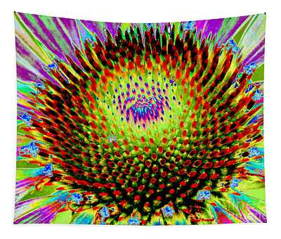 Coneflower Rainbow Tapestry