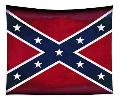 Confederate Rebel Battle Flag Tapestry