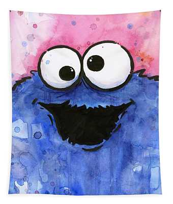 Cookie Monster Tapestry