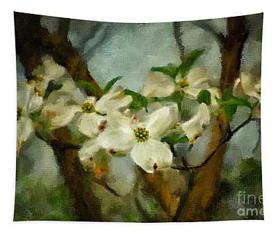 Cool Breeze Painterly Tapestry