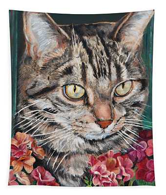 Cooper The Cat Tapestry