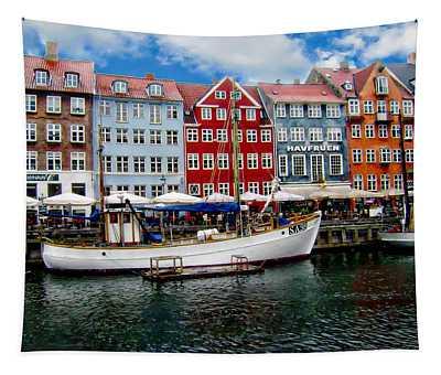Copenhagen - Denmark Tapestry