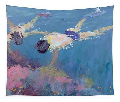 Coral II  Tapestry