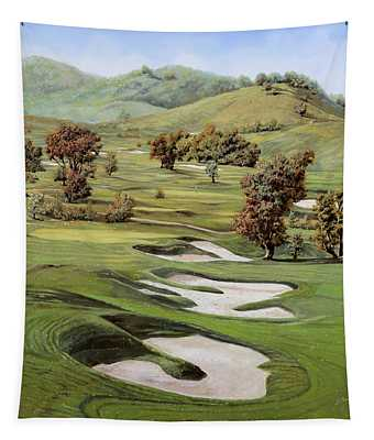 Cordevalle Golf Course Tapestry